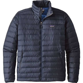 Patagonia Down Sweater - Navy Blue w/Navy Blue
