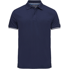 Weather Report Edin Polo T-Shirt - Navy