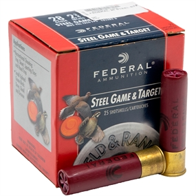 Federal Steel Game & Target Jagtpatroner - Kal. 28-70