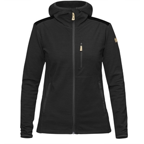 Fjällräven Keb Fleece Hoodie W - Dark Grey