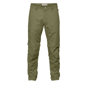 Fjällräven Traveller Zip-Off Trousers - Savanna