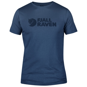 Fjällräven Logo T-Shirt - Uncle Blue