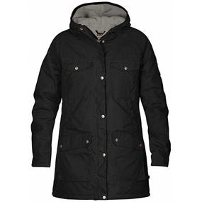 Fjällräven Greenland Winter W Jakke - Black Grey
