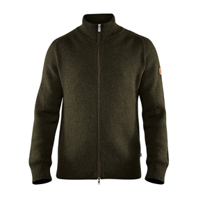 Fjällräven Greenland Re-Wool Cardigan - Deep Forest