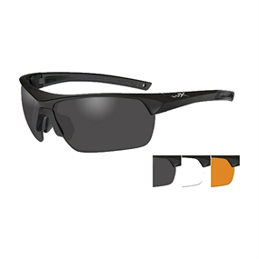 Wiley X Guard Adv Skydebrille - 3 linser