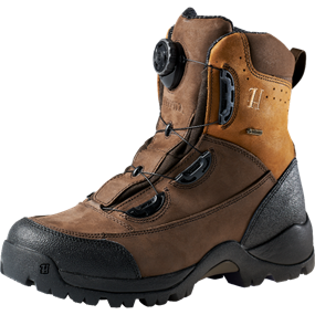 "Härkila Big Game Boa® GTX® 8"" - Dark brown/Brown"