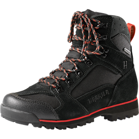 "Härkila Backcountry II Lady GTX® 6"" - Black/Dark red"
