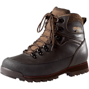"Härkila Trekking GTX® 6"" - Dark brown/Burgundy"