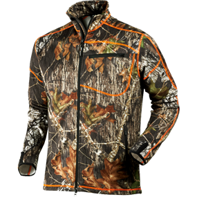 Härkila Skoll fleece - Mossy Oak® New Break-Up