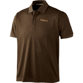 Härkila Gerit polo shirt - Demitasse brown