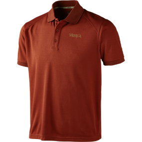 Härkila Gerit polo shirt - Burnt orange