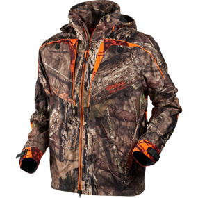 Härkila Moose Hunter jakke - MossyOak®Break-Up Country®/MossyOak®OrangeBlaze