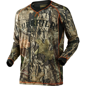 Härkila Moose Hunter L/S t-shirt - MossyOak®Break-up Country®