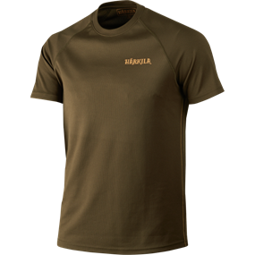 Härkila Herlet Tech S/S t-shirt - Willow green