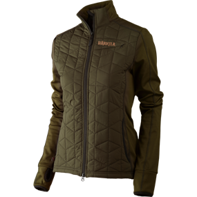 Härkila Hjartvar Insulated Hybrid Lady jakke - Willow green