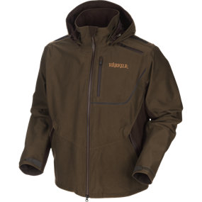 Härkila Mountain Hunter jakke - Hunting green/Shadow brown
