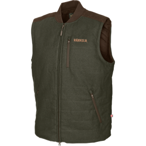 Härkila Metso Active quilt vest - Willow green/Shadow brown