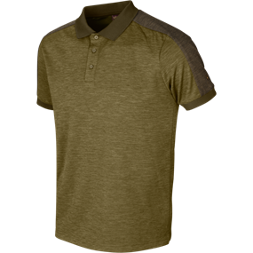 Härkila Härkila Tech polo - Dark olive/Willow green