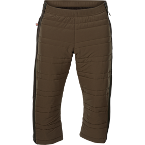 Härkila Mountain Hunter Insulated knickers - Hunting green/Shadow brown