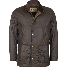 Barbour Hereford Wax Jakke - Olive