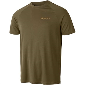 Härkila Herlet Tech T-Shirt - Light Khaki