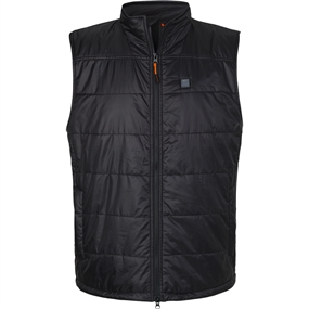 Nordic Heat Thermo Quiltet Varmevest - Black