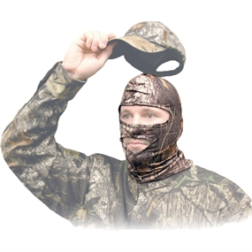 Primos Full Stretch-fit Ansigtsmaske - Mossy Oak - One size