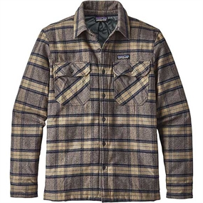 Patagonia Insulated Fjord Flannel Jakke - Forge Grey