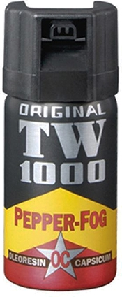 Peberspray - TW1000 Pepper - Jet Man 40 ml