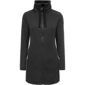 Weather Report Judy W Fleece - Black Melange