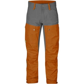Fjällräven Keb Trousers Regular - Orange - Gammel Model