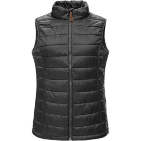 Weather Report Linn Down-Look W Vest - Black