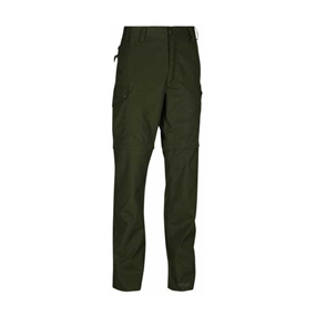 Lofoten Zip-Off Bukser - Deep Green