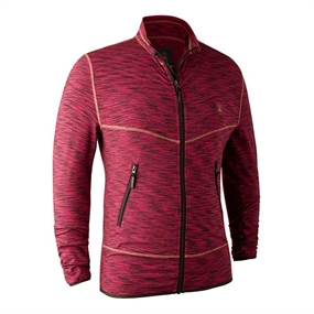 Deerhunter Norden Insulated Fleece - Red Mel.