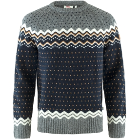 Fjällräven Övik Knit Sweater - Dark Navy