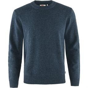 Fjällräven Övik Round-neck Sweater - Navy