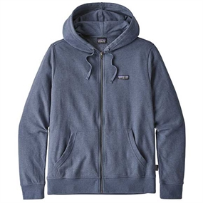 Patagonia P-6 Label LW Full-Zip Hoody - Dolomite Blue