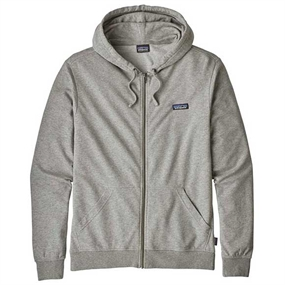 Patagonia Label LW Full-Zip Hoody - Feather Grey