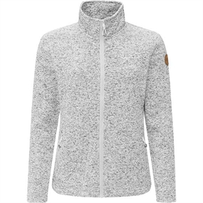 Weather Report Paulina W Fleece - Light Grey Melange