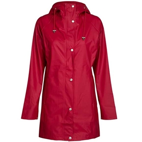 Ilse Jacobsen Rain87 Regnjakke - Deep Red