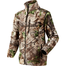 Seeland Coby Kids fleece - Realtree® Xtra green