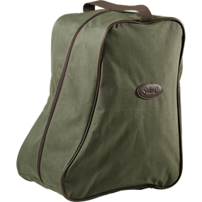 Seeland Boot bag, design line - Green/Brown -