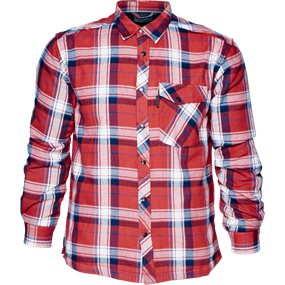 Seeland Moscus skjorte - Musk red check
