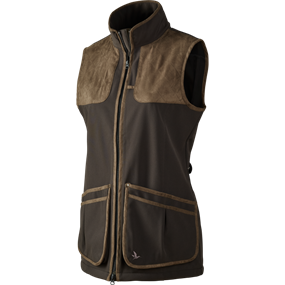 Seeland Winster Lady softshell vest - Black coffee