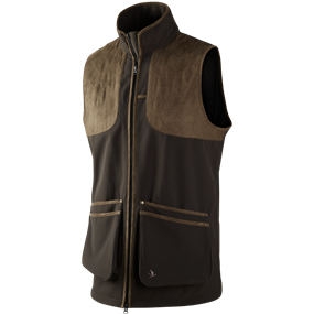 Seeland Winster softshell vest - Black coffee