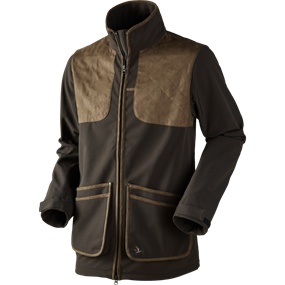 Seeland Winster softshell jakke - Black coffee