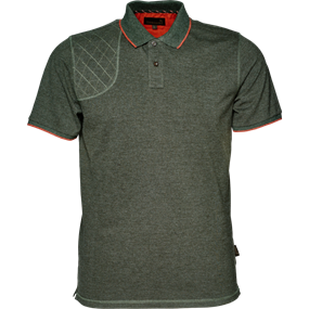 Seeland Clayton Classic Polo - Forest Night melange