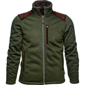 Seeland Dyna knit fleece - Forest green