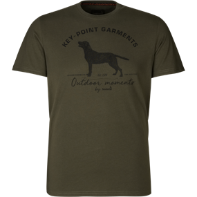 Seeland Key-Point t-shirt - Pine green
