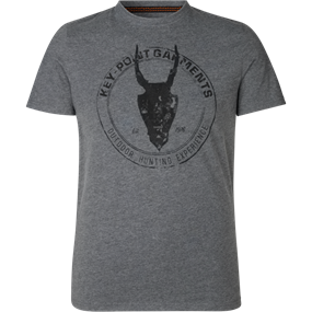 Seeland Key-Point t-shirt - Grey melange
